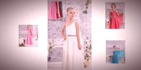 c6d18959575b Grécke šaty pre dievčatá alebo dievčatá - prehľad o dlhých a ...