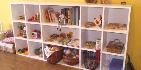 Półka Zabawkowa Dla Dzieci Przegląd Plastiku Lub Drewna Z