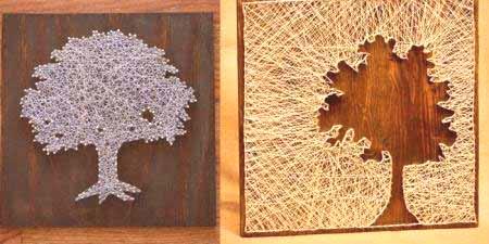 Zaktualizowano Grafika smyczkowa - obrazy z gwoździ i nitek, wzory i technika BP59