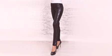 c42b35a33ab Кожени гамаши - с какво да носят, кой ще се побере и модни женски ...