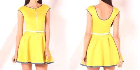 Krátké šaty - krásné večerní a svatební styly e420fe8eb89