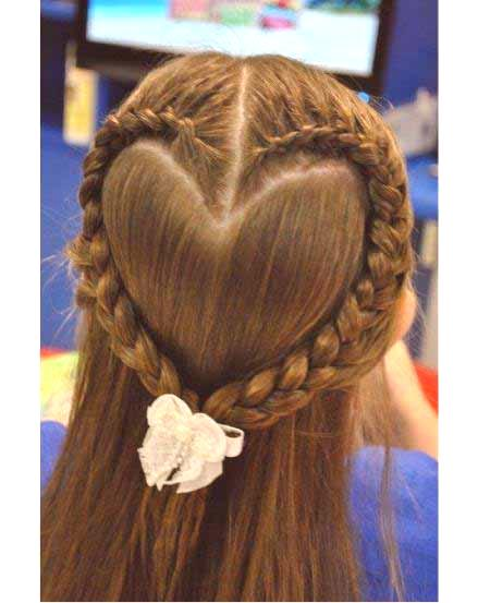 Fryzury Dla Dziewczynek Na Długie Włosy Fryzury Magazyn