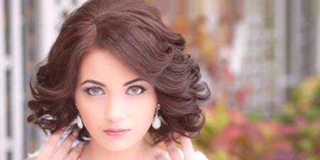 Fryzury ślubne Dla średnich Włosów Z Grzywką Pomysły