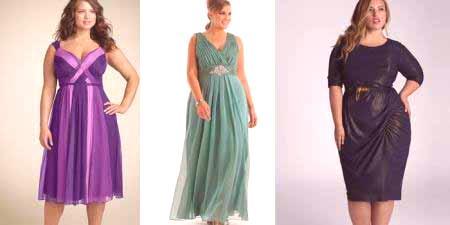 d04c157162b Večerní šaty pro plné ženy - jak si vybrat styl
