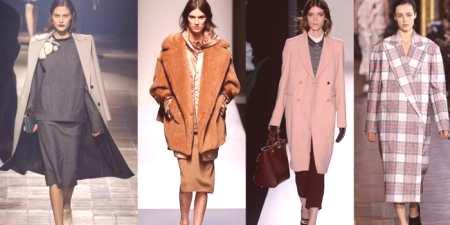 Módní kabáty 2017-2018 pro dívky a ženy - jak si vybrat podle modelu ... a0d9859674f