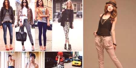 00b900ff2481 Skrátené nohavice - prehľad trendových vzorov a štýlových nápadov na ...
