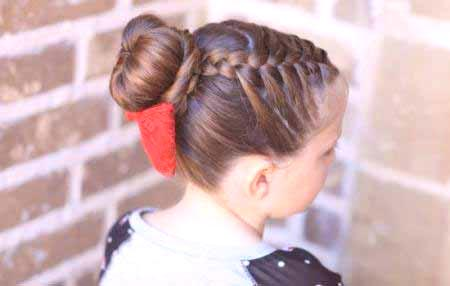 Fryzury Dziecięce Dla Dziewczynek Na Długich Włosach