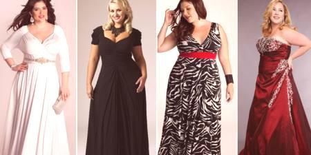 Večerné šaty pre plné ženy - ako si vybrať štýl 251d5bb7b7d