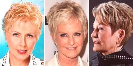 Fryzury Dla Starszych Kobiet Na średnich Długich I Krótkich
