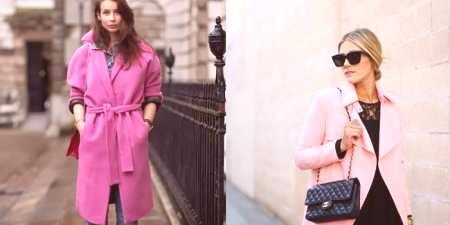 135f894afd4 Růžový kabát - nápady na módní obrazy a jak si vybrat šátek